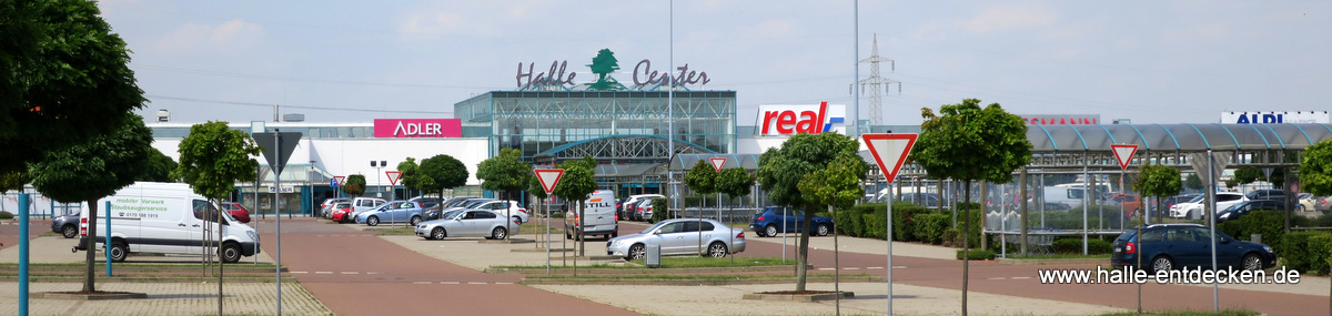 Real im Halle-Center Peißen